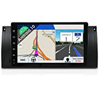 Android 9 Single Din Samochodowy Stereo Samochodowy DVD Nawigacja GPS Radioodtwarzacz do BMW 5 E39 | M5 | Ekran dotykowy…