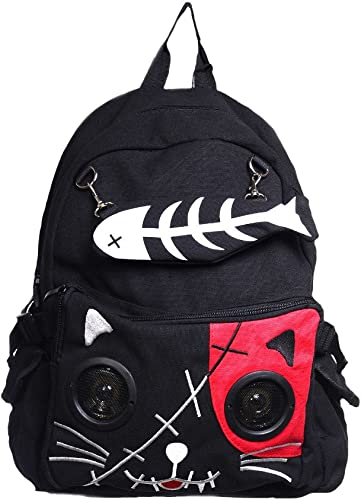 Lost Queen Kitty Speaker Backpack