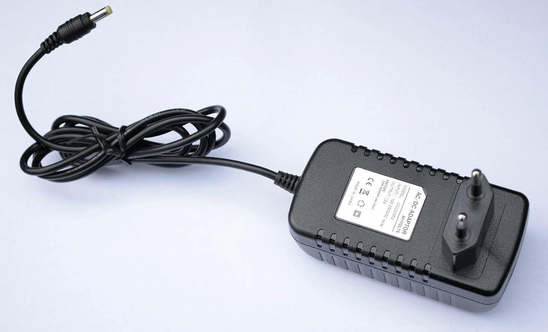 Adaptateur Secteur MyVolts Chargeur//Alimentation 12V Compatible avec Pioneer DDJ-WeGO3-R Contr/ôleur DJ Prise fran/çaise
