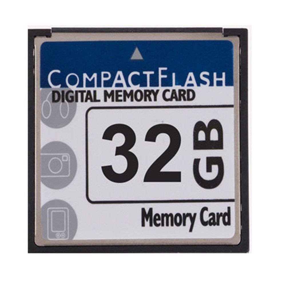FengShengDa 32GB Compact Flash Memory Card Speed Up To 50MB/s, Frustration-Free Packaging- SDCFHS-32G-AFFP (32G)