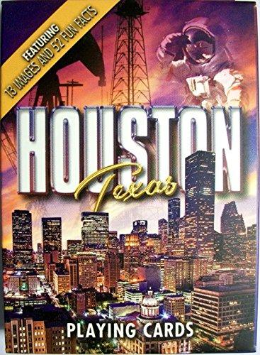 Houston Texas Souvenir Playing Cards