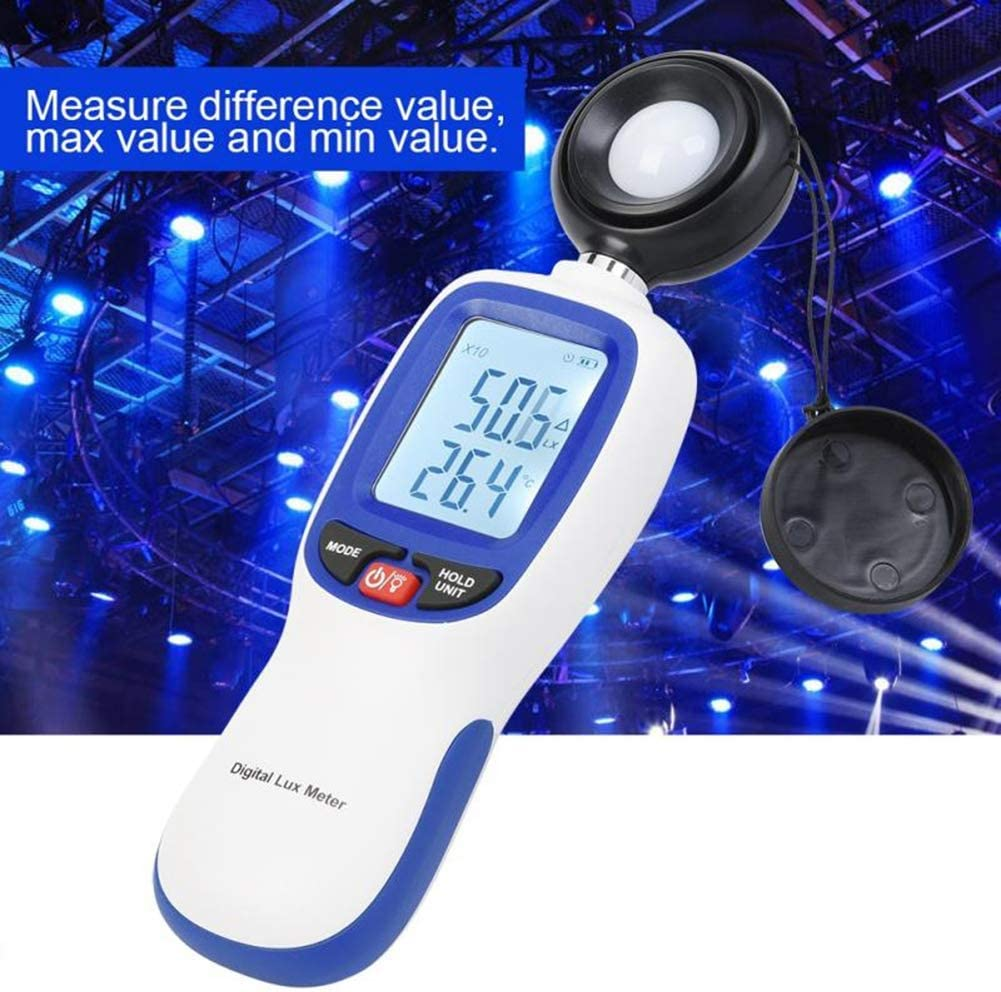 DZSF Handheld WT81 Digital Handheld Luxmeter Portable Light Meter Tester Illuminometer Professional Measuring Instrument