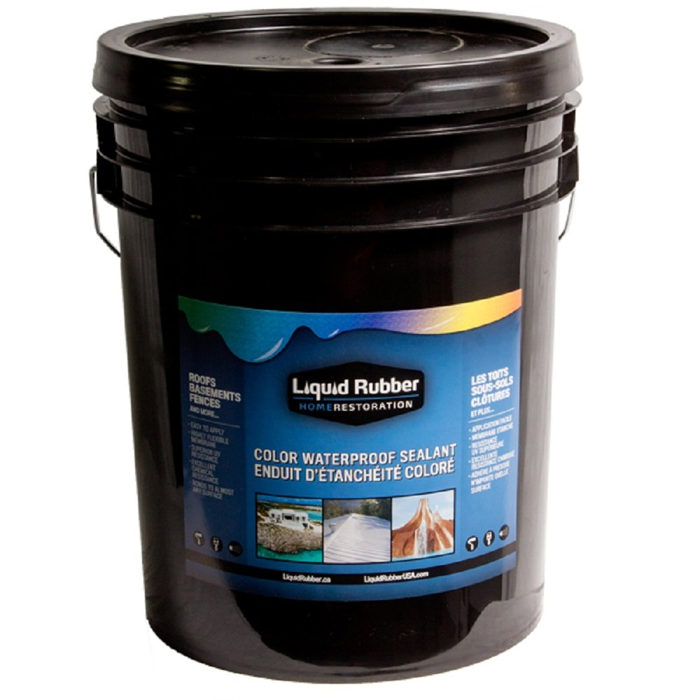Liquid Rubber Color Waterproof Sealant - White - 5 Gallon by Liquid Rubber USA