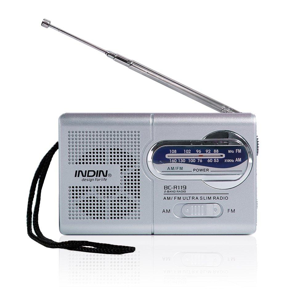 Amazon.com: Hapito AM/FM Portable Radio - Mini Pocket Radio Receiver ...