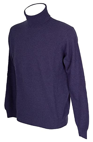 RAGNO Maglia pullover uomo lana manica lunga collo alto