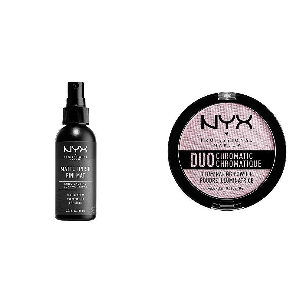 Amazon.com : NYX PROFESSIONAL MAKEUP Makeup Setting Spray, Matte Finish, 2.03 Ounce : Foundation Makeup : Beauty