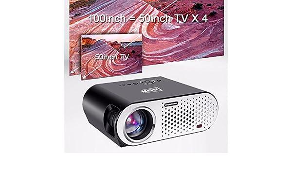 Llena Color proyección Maximale Pantalla 280 Inch Proyector LED ...