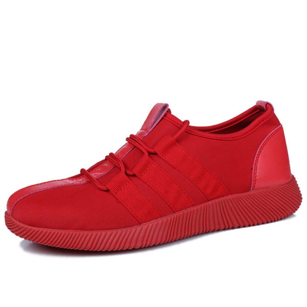 GRRONG Mauml;nner Fruuml;hling Und Herbst Trend Schuhe Student Sport Jugend Schuhe  39|Red