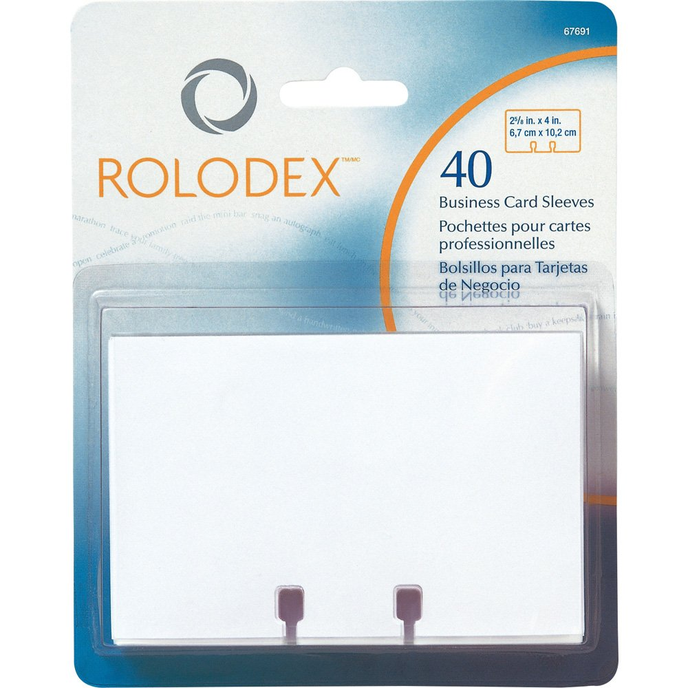 Rolodex spare sleeve (entry 40 sheets) IBC20 (japan import)