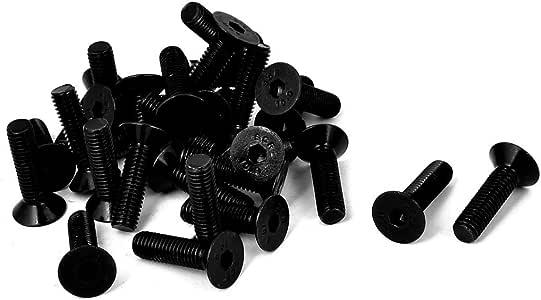 uxcell 2pcs Alloy Steel Hex Socket Drive M10x140mm Shoulder Screw M8x13mm Thread