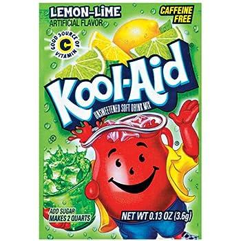 Kool-Aid Soft Drink Mix - Unsweetened Lemon Lime