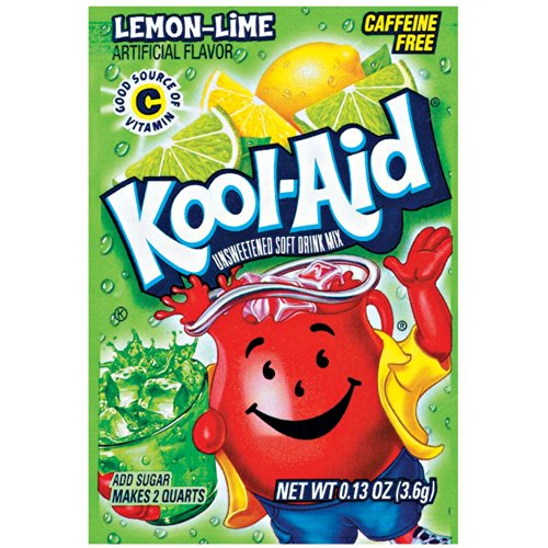 Kool-Aid Soft Drink Mix - Unsweetened Lemon Lime by Kool-Aid