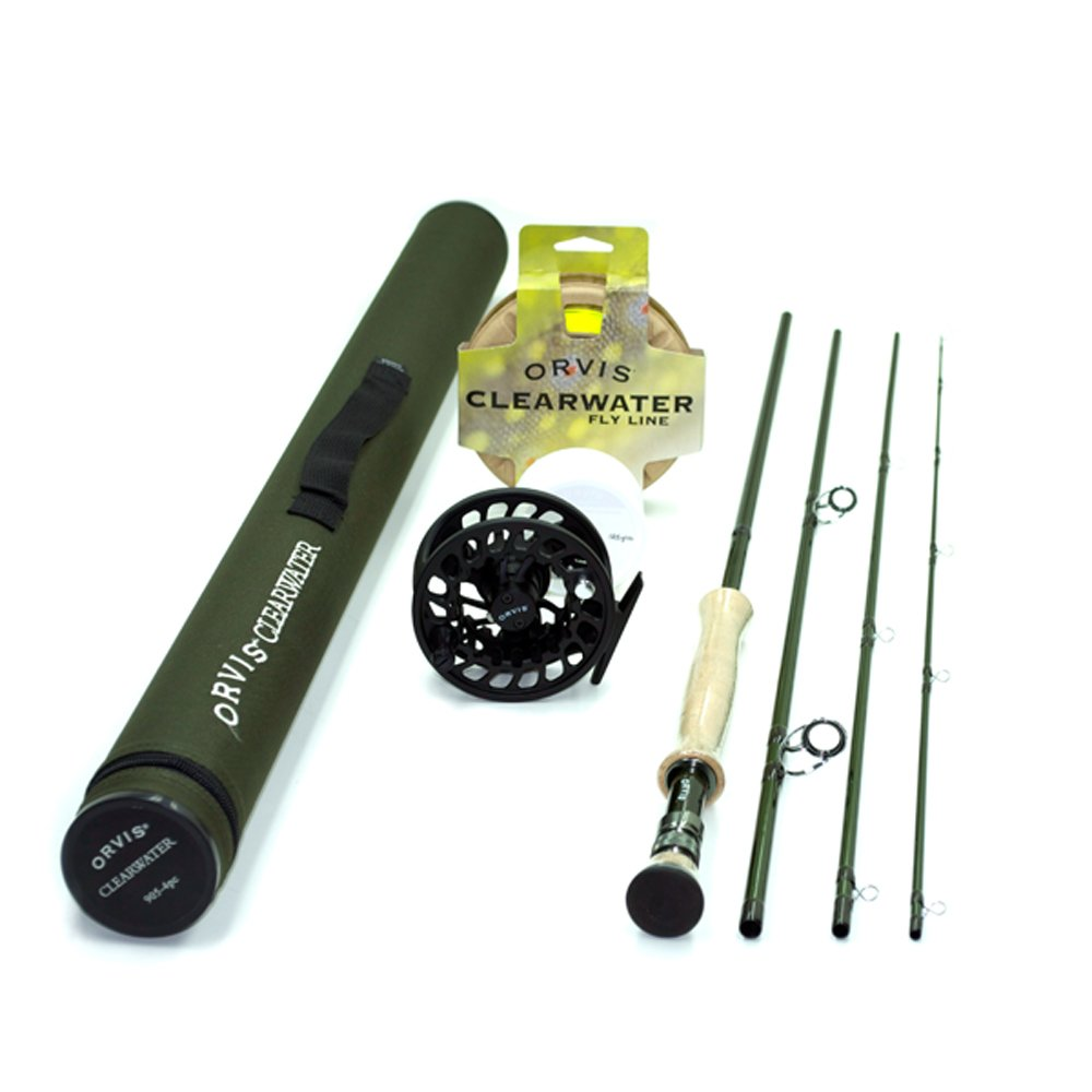 Orvis Clearwater 908-4 Fly Rod Outfit by Orvis