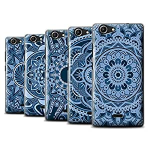 STUFF4 Phone Case / Cover for Wiko Pulp 4G / Pack 15pcs / Mandala Art Collection