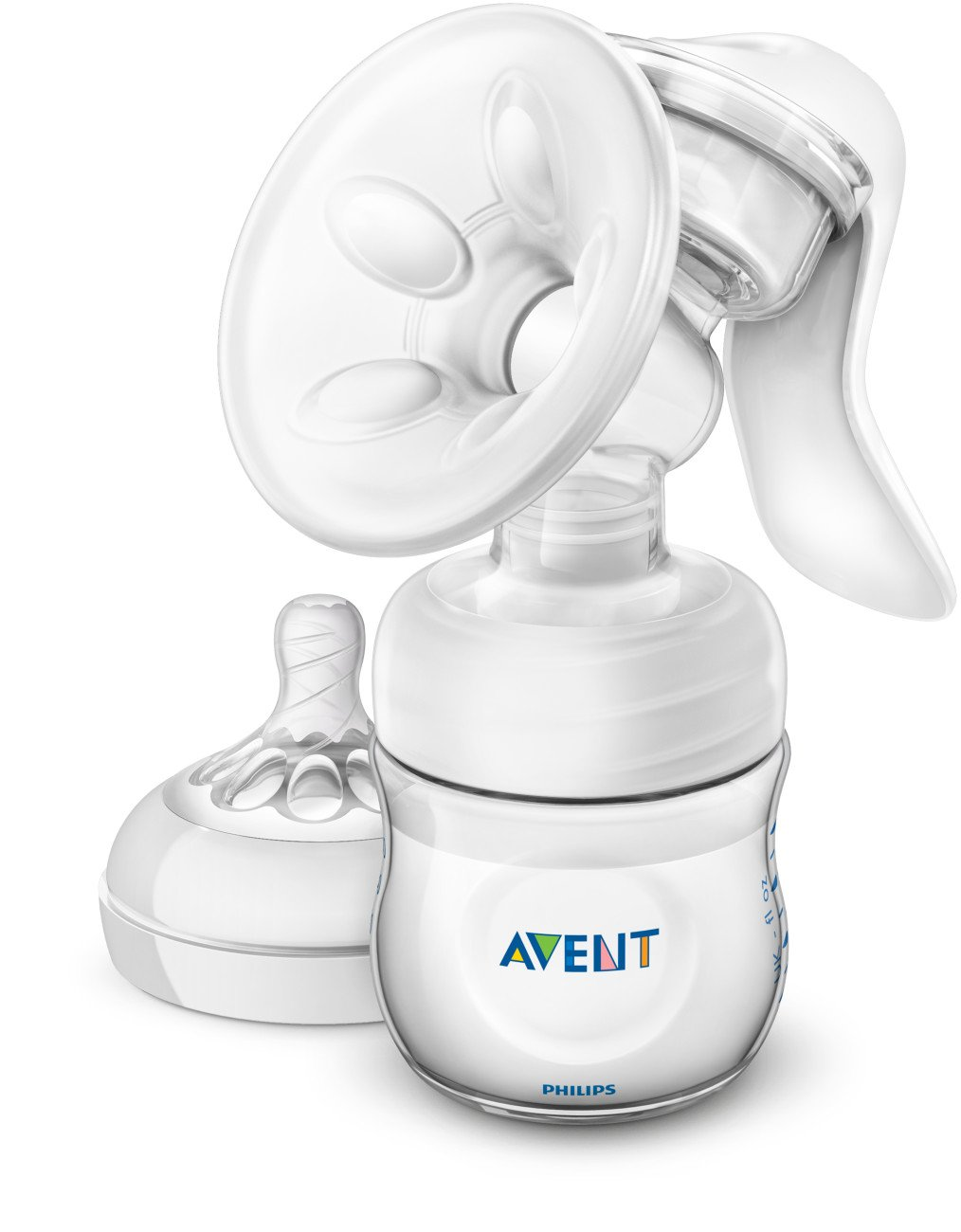 Philips Avent Breast SCF330/30 Pump Manual, Clear by Philips AVENT