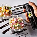 Kitchen Torch | Culinary Torch For Creme Brulee | Butane Blow Torch For Home & Pro Chefs | Safety Lock & Adjustable Flame | Free Bonus: Stand & BBQ Recipe E-Books | By XPERTS FLAME.