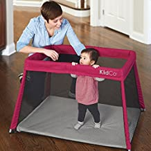 Kidco Travel Pod Portable Play Yard - Cranberry