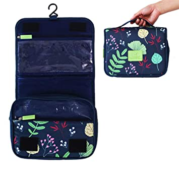 b7416458cb69 Westspak Hanging Toiletry Bag, Large Cosmetic Accessory Makeup Storage  Travel Toiletries Organizer for...