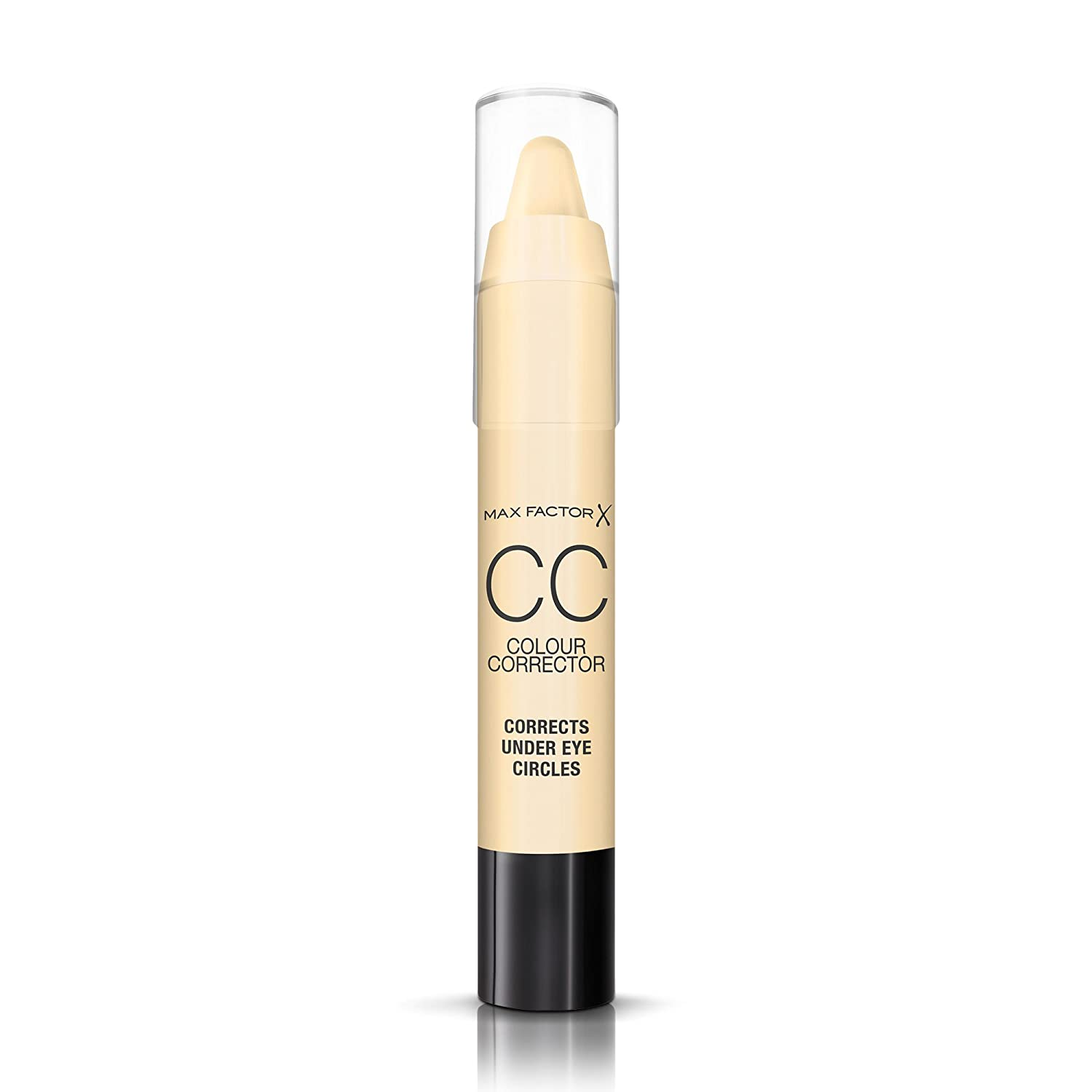 Max Factor CC Concealer Stick for Under Eye Circles, Yellow, 3.4 g Max Factor Make up 81549805