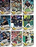 Pittsburgh Pirates / Complete 2017 Topps Series 1 Baseball Team Set. FREE 2016 TOPPS PIRATES TEAM SET WITH PURCHASE!