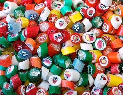 Unwrapped Bulk Candy (Primrose Holiday Cut Rock - Seasonal Bulk Unwrapped Candy (5Lb))