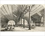10x8 Print of The Great Western Railway terminus at Paddington Station (4409696)