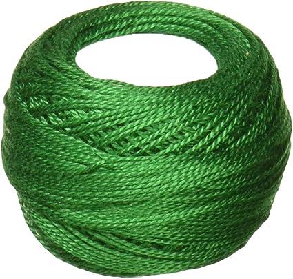 Bright Green Size 8 DMC 116 8-700 Pearl Cotton Thread Balls