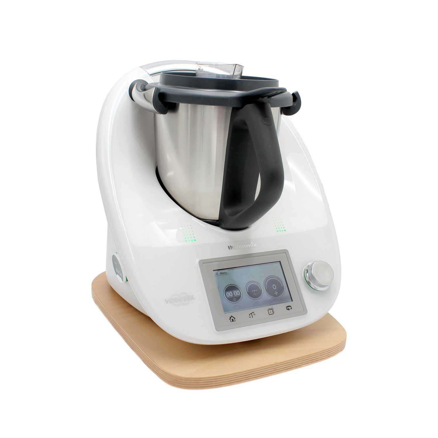 ThermoMobil, tabla deslizante de madera de haya para la Thermomix TM5.: Amazon.es: Hogar