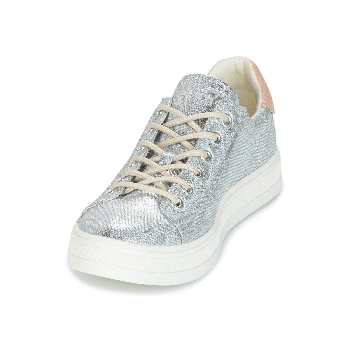 ESPRIT Damen Simona Lace Lace Simona Up Sneaker Grau 72ba8d