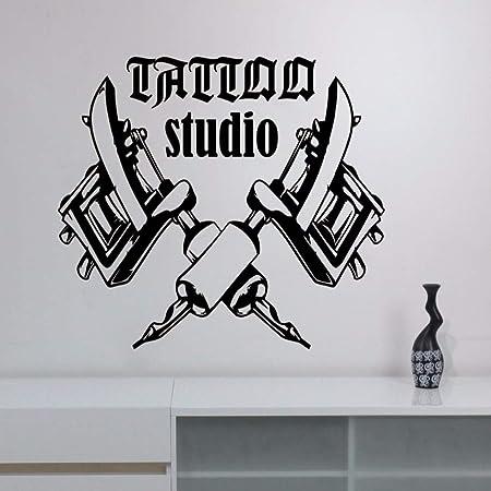zhuziji Tattoo Salon Room Decor Decal Tattoo Studio Machines ...