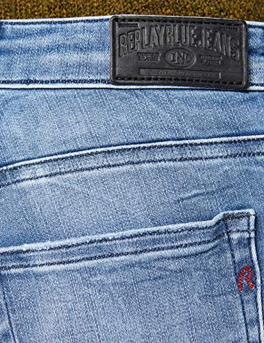 Blue Delgados Pantalones Katewin Azul 10 Replay Denim Para Vaqueros Mujer light Hyperflex nawxxU7