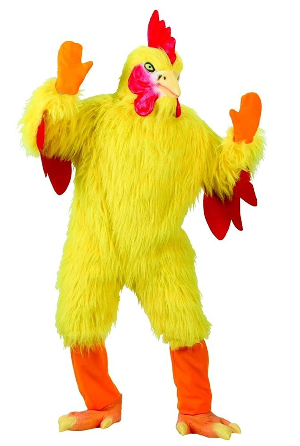 Amazon.com Fun World Funny Chicken Suit Yellow One Size Costume Clothing  sc 1 st  Amazon.com & Amazon.com: Fun World Funny Chicken Suit Yellow One Size Costume ...