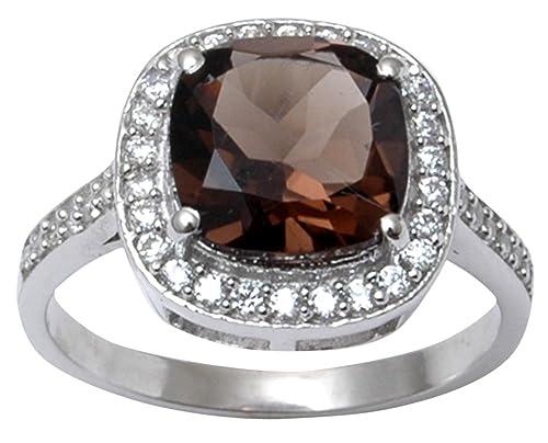 Banithani 9.25 Sterling Silver Beautiful Faux Pearl Stone Women Party Ring Fashion Jewelry