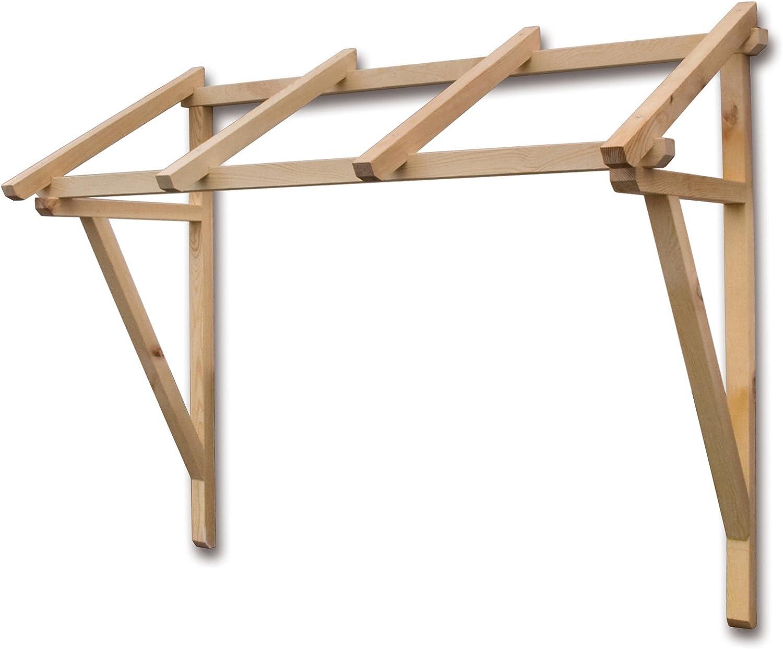 Estructura de madera maciza para porche 120 x 62 x 70h impermeable Abbellimento entrada Muebles de jardín muebles: Amazon.es: Jardín