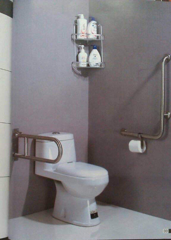 Salle de bains rails de sécurité - anti-décoratif accoudoir coulissant - petits enfants ou personnes âgées main courante