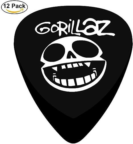 Púas de guitarra personalizadas con logotipo de Humanz, 12 ...