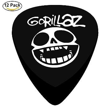 Púas de guitarra personalizadas con logotipo de Humanz, 12 unidades