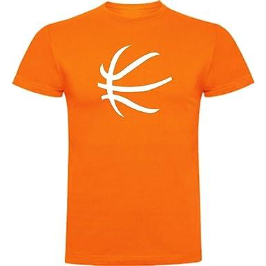 The Fan Tee Camiseta de Mujer Baloncesto Balon Deportes: Amazon.es ...