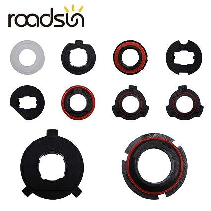 2x LED Headlight Bulb Base Adapter Socket Retainer 9004//9005//H13//H11//H7//H4//H3//H1