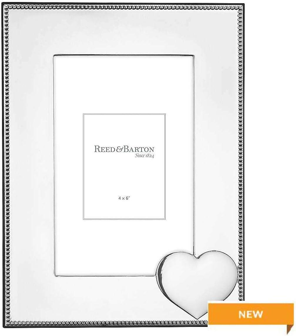 Precious Heart Silverplate 4x6 Frame by Reed & Barton - 4x6 [並行輸入品]