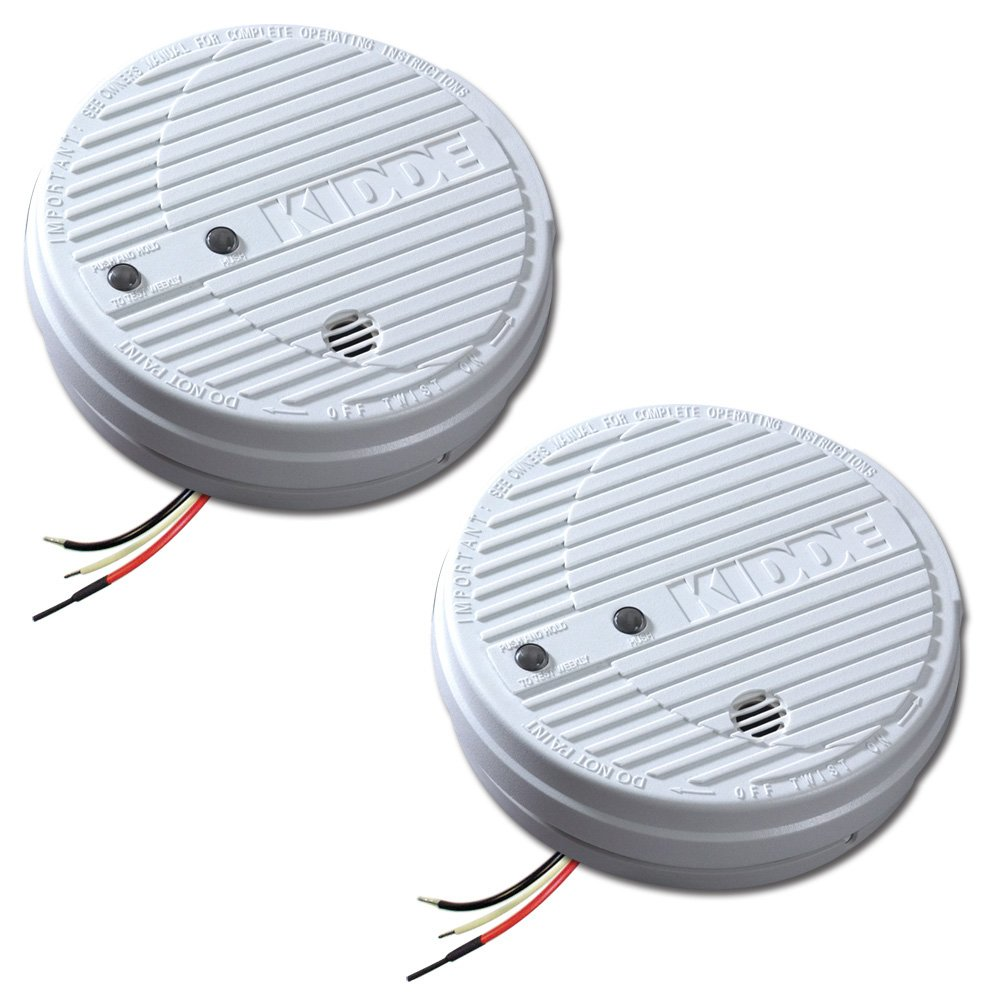 The Best Smoke Alarms Reviews Comparisons Of Top Rated 2wire Detector Wiring This Two Pack Detectors Can Provide You Whole Home Coverage So Rest Assured Your Family Is Protected In Case A Fire