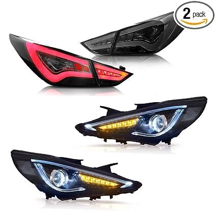 Amazon Com Mostplus Headlight Tail Light Led Drl