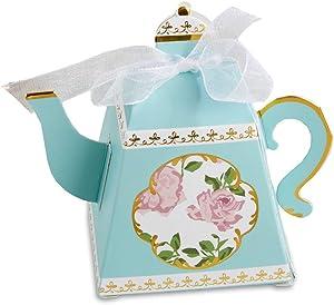 Kate Aspen 28298NA Tea Time Teapot Favor Box (Set of 24)