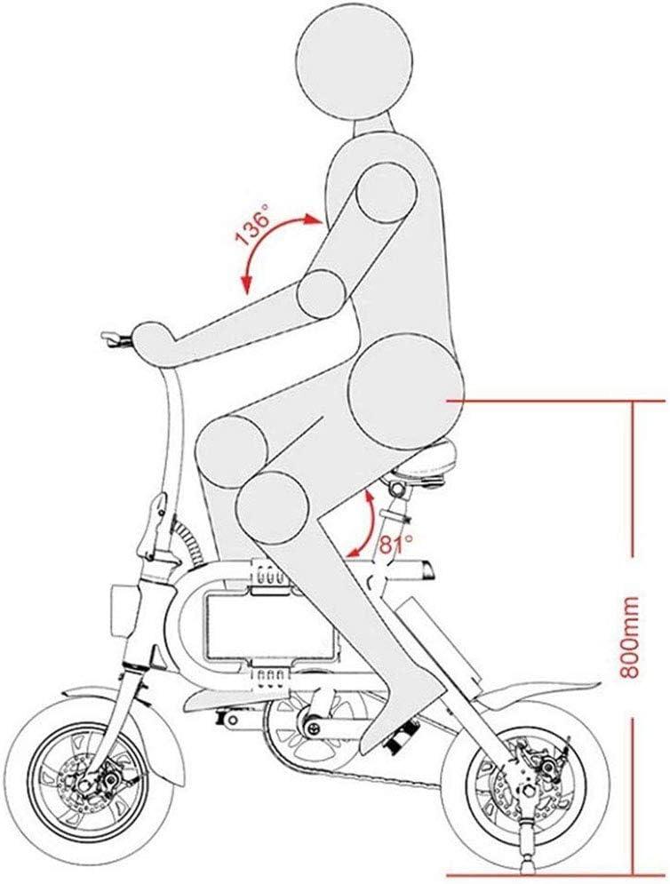 Bicicleta Eléctrica, Adulto Mini Bicicleta Plegable del Coche ...