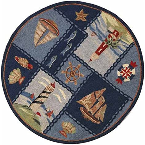Safavieh Chelsea Blue Round Rug