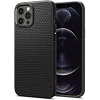 Spigen iPhone 12/12 Pro Case Liquid Air - Matte Black