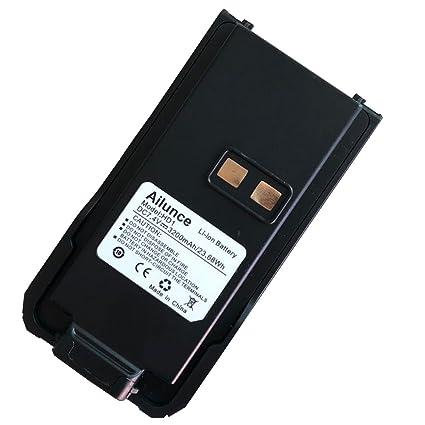Amazon com: Ailunce HD1 Two Way Radio Battery 3200mAh 7 4V