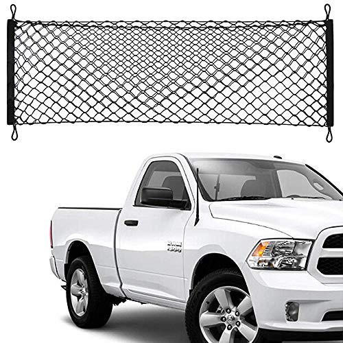 Truck Bed Cargo Net Car Hammock Style Trunk Storage Organizer Net Fit Dodge Ram 1500 2500 3500 2015 2016 2017 2018