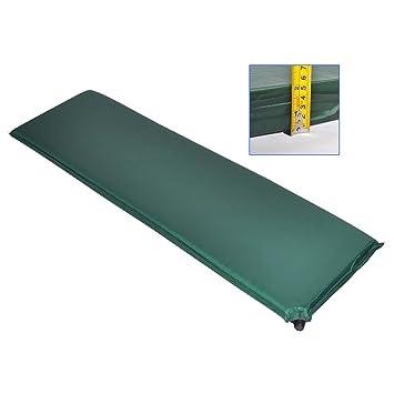 Colchón autoinflable individual para esterilla de Camping saco de dormir para cama o 5 cm Adventure: Amazon.es: Deportes y aire libre