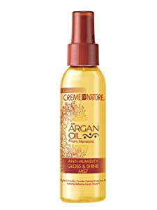 Creme of Nature Argan Oil Gloss and Shine Mist, 4 Ounce (CONMIST)